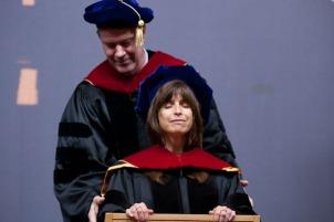 Debbie Graduating