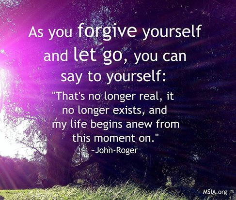 J-R Forgiveness quote on rebirth and letting go June 7 2016