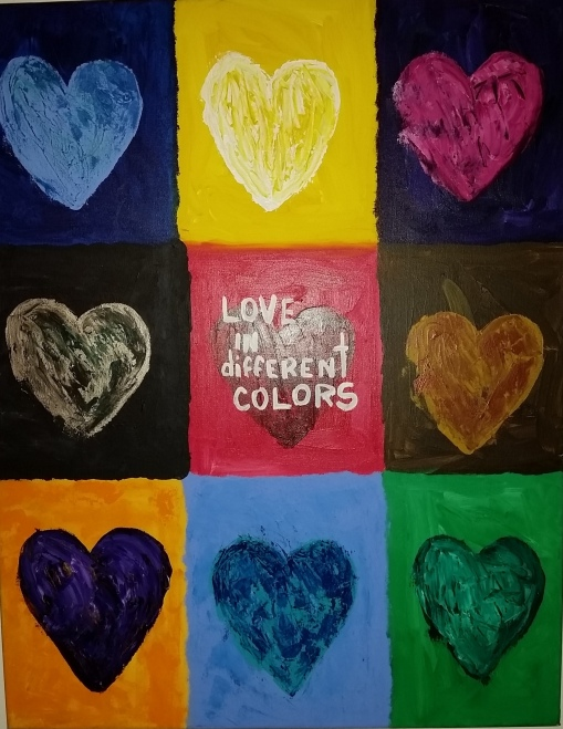 color love in different colors 3 cropped Frank Tuesday challenge July 10 2016