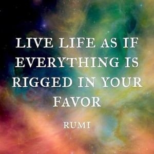Leap of Faith Rumi quote