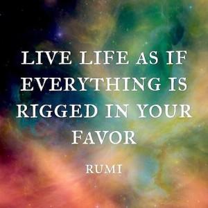 Leap of Faith Rumi quote