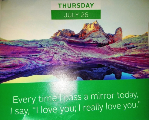 Louise Hay Quote on I Love Myself