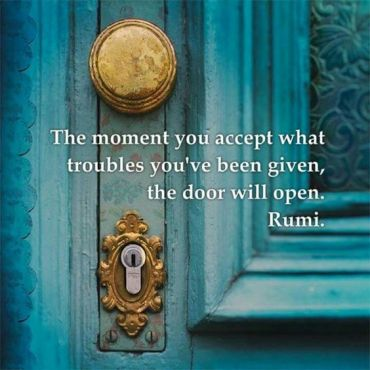 Rumi on accepting judgment