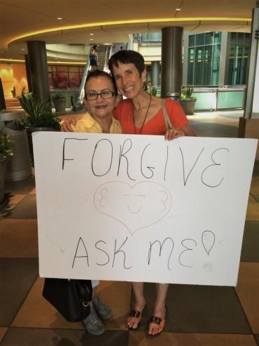 Debbie and Maria 3 Galeria Sherman Oaks July 9 2017
