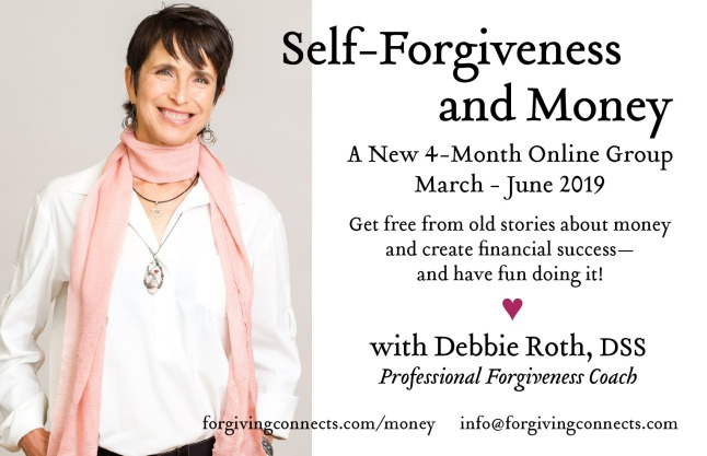 self-forgiveness and money group
