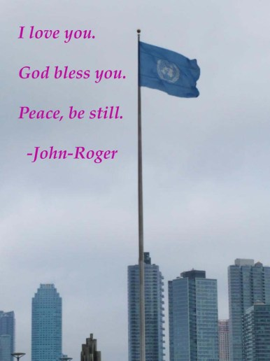 One UN Flag 9 magic words