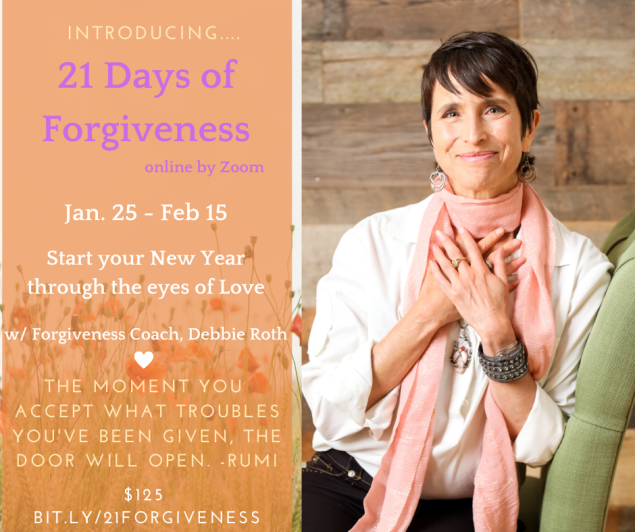 21 Days of Forgiveness Graphic
